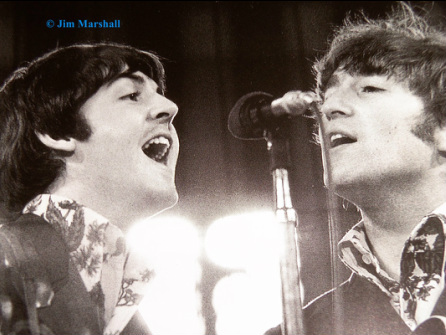 The Beatles Last Concert captured by Jim Marshall as only he could photograph The Beatles live.