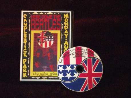 Our Beatles Fan Gifts Include 2 Beatles DVDs including The Beatles Live